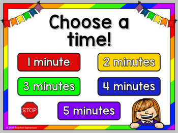Classroom Timer Powerpoint