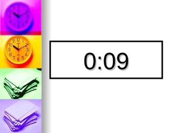 Classroom Timers in PowerPoint