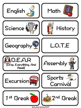 Classroom Timetable