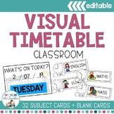 Classroom Timetable - Editable