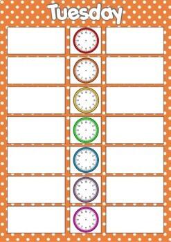 Classroom Timetables