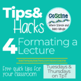 Classroom Tips and Hacks Volume 1 Issue 1