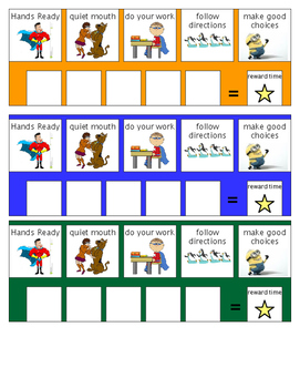 Classroom Behavior Management Set