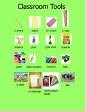 School Tools Poster