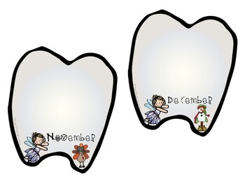 Classroom Tooth Chart