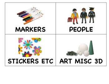 Classroom Toy Labels