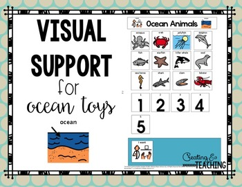 Classroom Toy Visual Supports {for Autism}