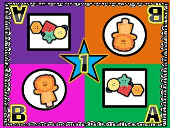 Classroom Toys! Puppet and Lacing Buttons Kagan Inspired Team Mats