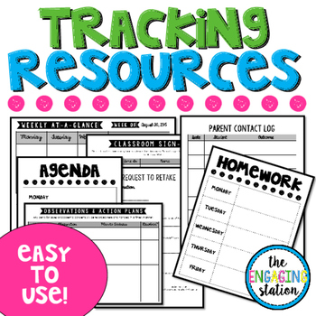 Classroom Tracking Resources
