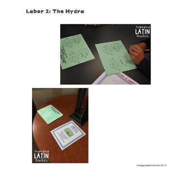 Classroom Transformation: 12 Labors of Hercules in Latin
