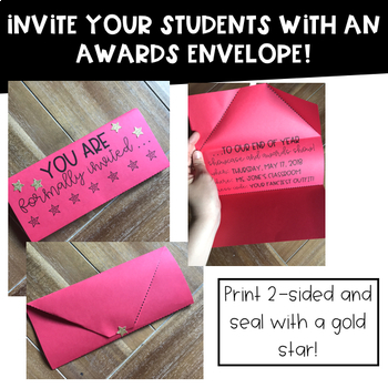 End of Year Awards Show Classroom Transformation