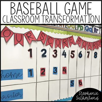 Classroom Transformation Kit: Baseball Stadium