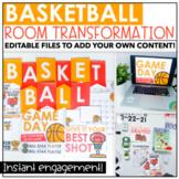 Classroom Transformation Kit: Basketball Theme   Digital Slides
