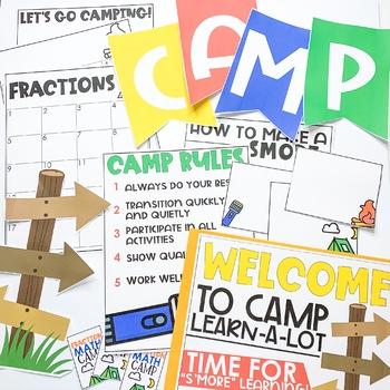Classroom Transformation Kit: Camping Theme
