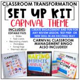 Classroom Transformation Kit: Carnival Theme