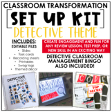 Classroom Transformation Kit: Detective Theme