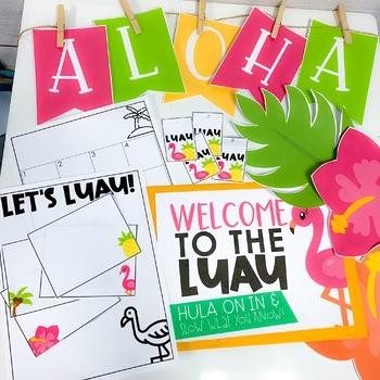 Classroom Transformation Kit: Luau Theme
