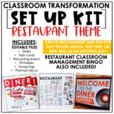 Classroom Transformation Kit: Restaurant Theme