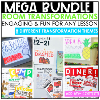 Classroom Transformation Kits Bundle (GROWING Resource)