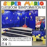 Reading Comprehension Classroom Transformation   Super Mario