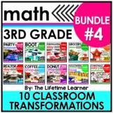 3rd Grade Classroom Transformations - Bundle #4