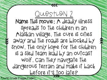 Classroom Trivia Set 4