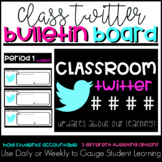 Classroom Twitter Bulletin Board or Door Decor Poster