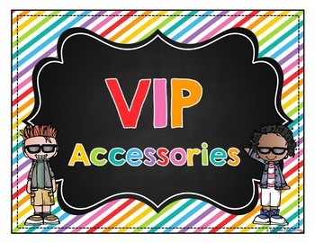 Classroom VIP Decor Set, Signs, Labels, Banners, & More