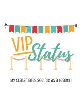 Classroom VIP Labels