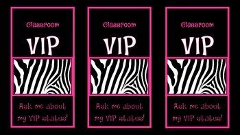 Classroom VIP Passes
