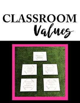 Classroom Values