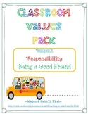 Respect, Responsibilty and Be a Good Friend Pack