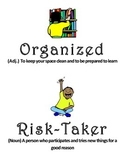 Classroom Values Posters