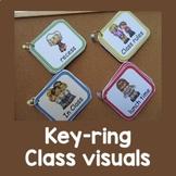 Classroom Visual Keyrings