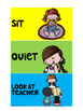 Classroom Visual Signs-FREEBIE!