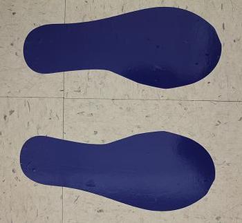 Classroom Visuals Circletime feet (set of 5)