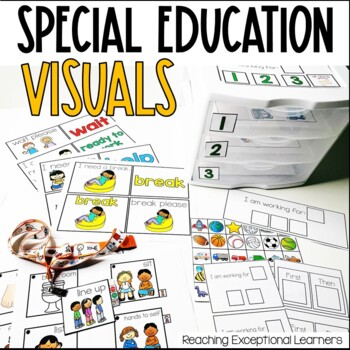 Special Education Classroom Visual Supports