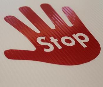 Classroom Visuals Stop Hand (Sold Individually)