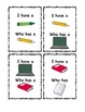 Classroom Vocabulary I have Who Has