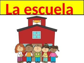 Classroom Vocabulary Realidades/Auntentico Ch 2B