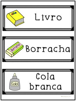 Classroom Vocabulary in Portuguese/ Vocabulário da Sala de Aula em Português