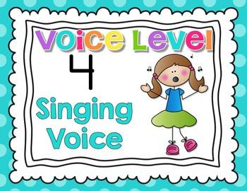 Classroom Voice Level Chart