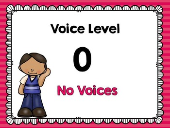 Classroom Voice Level Chart - Classroom Management