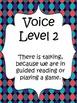 Classroom Voice Level Chart {Modern Polka Dot}