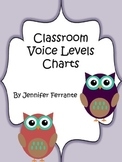 Classroom Voice Level Chart {Owl Themed}