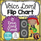 Voice Level Flip Chart- English & Spanish!