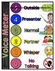 Classroom Voice Meter / Noise Level Meter (with illustrations)
