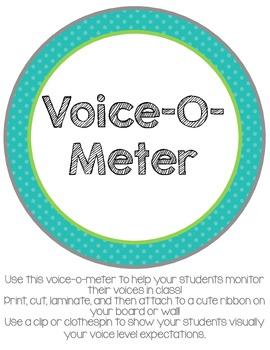Classroom Voice-O-Meter