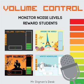 Classroom Volume Control (Monitor your class's noise levels)