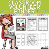 Classroom Volunteer Binder